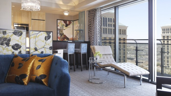 Picture of Wraparound Fountain View Terrace Suite + Terrace One Bedroom
