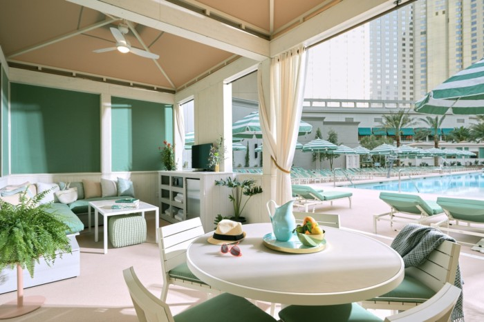 Pool And Cabana | Suites at Park MGM Las Vegas