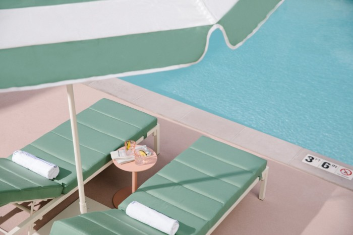 Pool Lounge Chairs | Suites at Park MGM Las Vegas