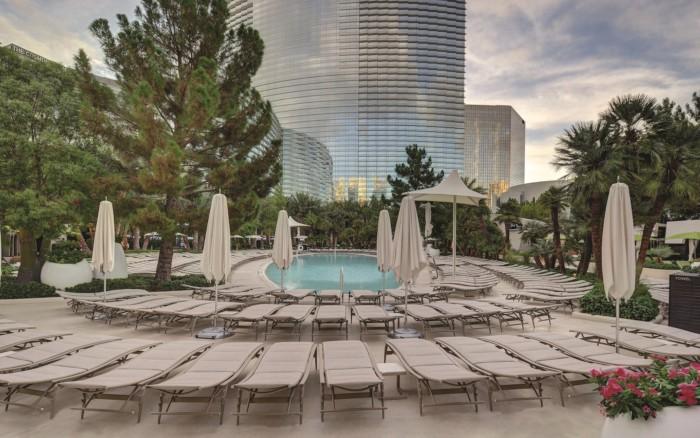 Pool Loungers | Suites at ARIA Resort & Casino Las Vegas