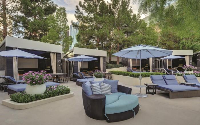 Pool Seating | Suites at ARIA Resort & Casino Las Vegas