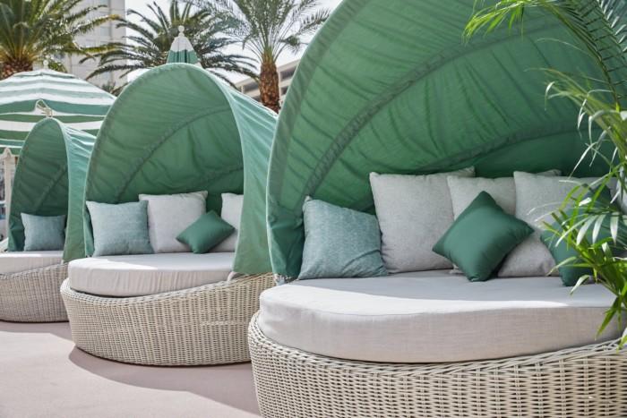 Pool Seating | Suites at Park MGM Las Vegas