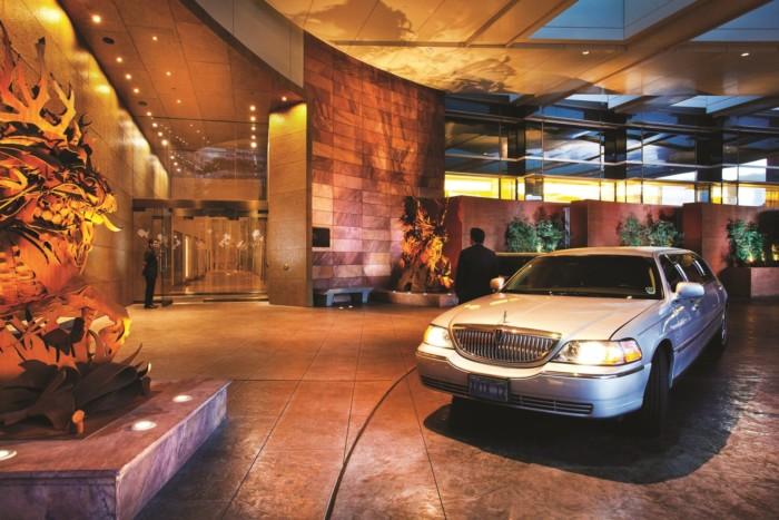 Porte Cochere | Suites at ARIA Resort & Casino Las Vegas
