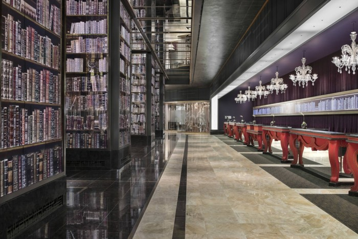 Reception Desk | Suites at The Cosmopolitan of Las Vegas