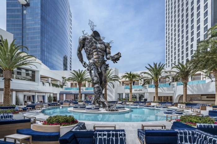 Resort Pool   Suites at The Palms Casino Resort