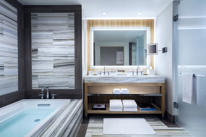 Salon Suite Bathroom | Suites at The Palms Casino Resort
