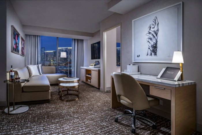 Salon Suite Living Room | Suites at The Palms Casino Resort