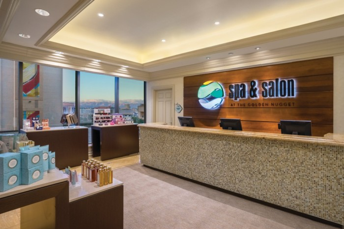 Spa and Salon Entry | Suites at Golden Nugget Las Vegas Hotel & Casino
