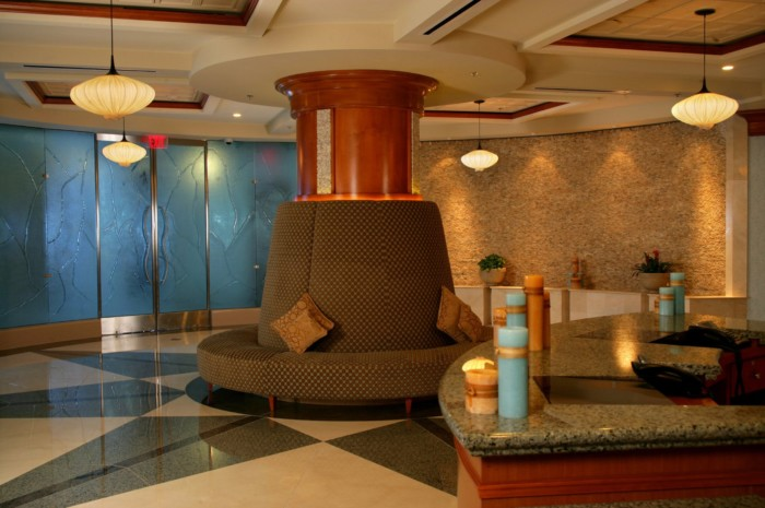 Spa Costa del Sur Lobby in the South Point Hotel | Suites at South Point Hotel, Casino, and Spa