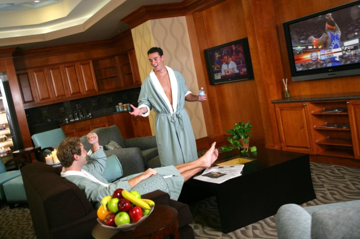 "Spa Costa del Sur Men""s Lounge in the South Point 