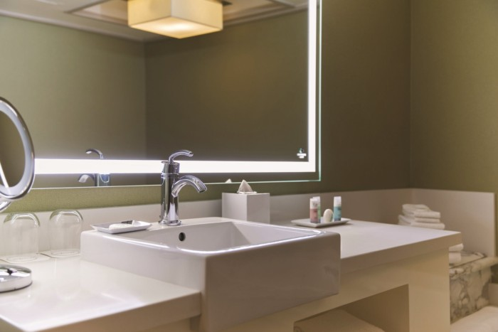 Stay Well Bathroom | Suites at Mirage Resort & Casino