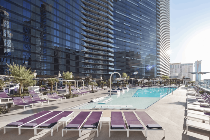 The Chelsea Pool | Suites at The Cosmopolitan of Las Vegas