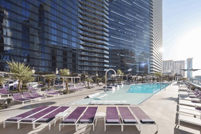 The Chelsea Pool | Suites at The Cosmopolitan of Las Vegas