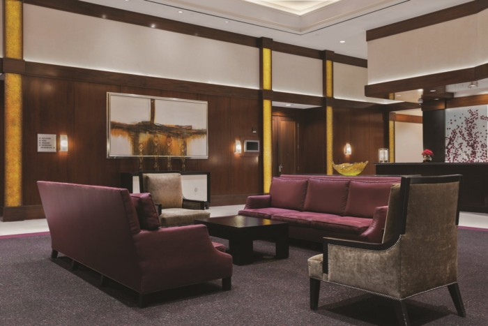 Tower Lobby | Suites at The Signature at MGM Grand