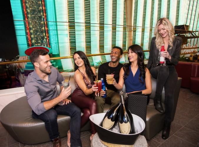 Troy Liquor Bar Balcony | Suites at Golden Nugget Las Vegas Hotel & Casino