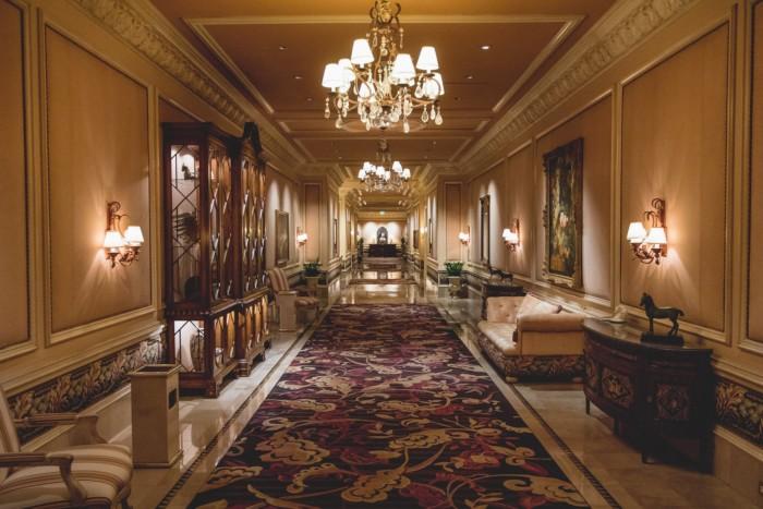 Villas Hallway | Suites at Mirage Resort & Casino