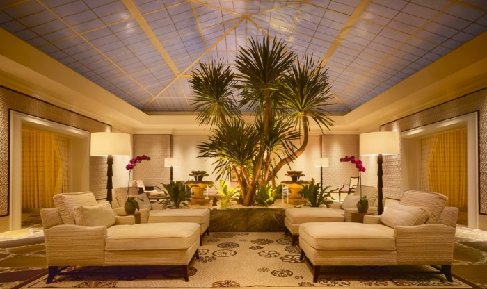 Wynn Spa Lounge Night | Suites at Wynn Las Vegas